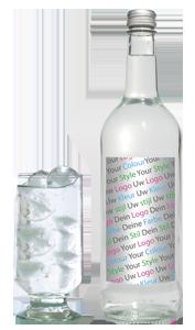 logo fles drankenreclame bottle reclame kleurstijl